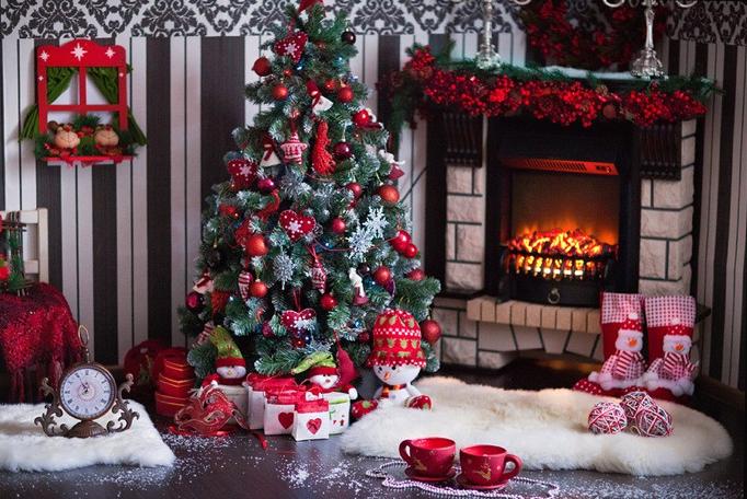 Как сделать красивую новогоднюю фотосессию дома
