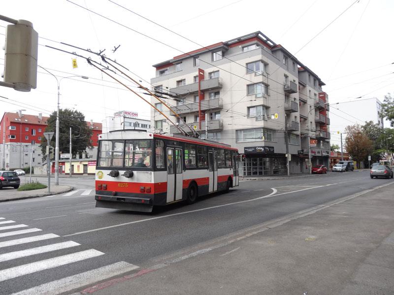 Словацкий тролейбус