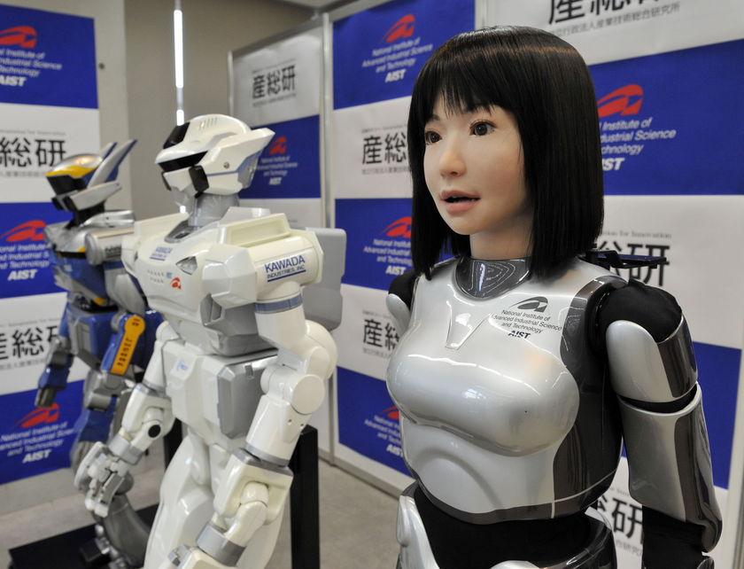 Человекообразный робот готов сменить человечество Genhina_Robot