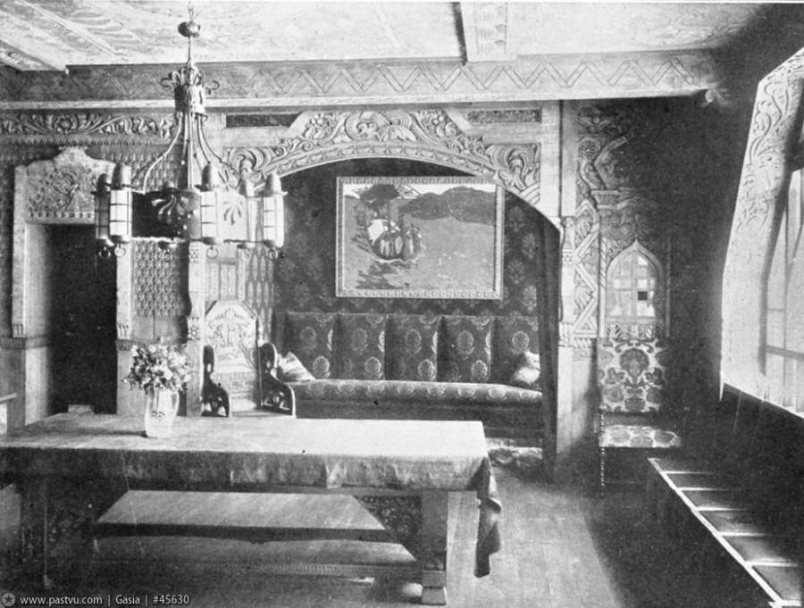 1907 Интерьеры Дома Перцовой З.О, (Столовая).