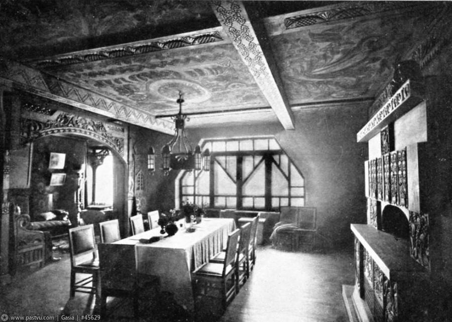 1907 Интерьеры Дома Перцовой З.О, (Столовая)