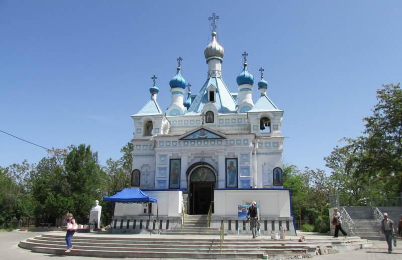 Церковь на Боткинском кладбище