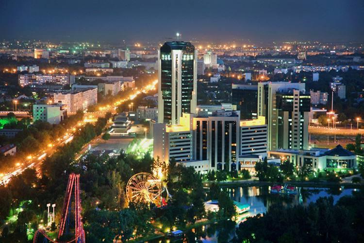 Вечерний Ташкент