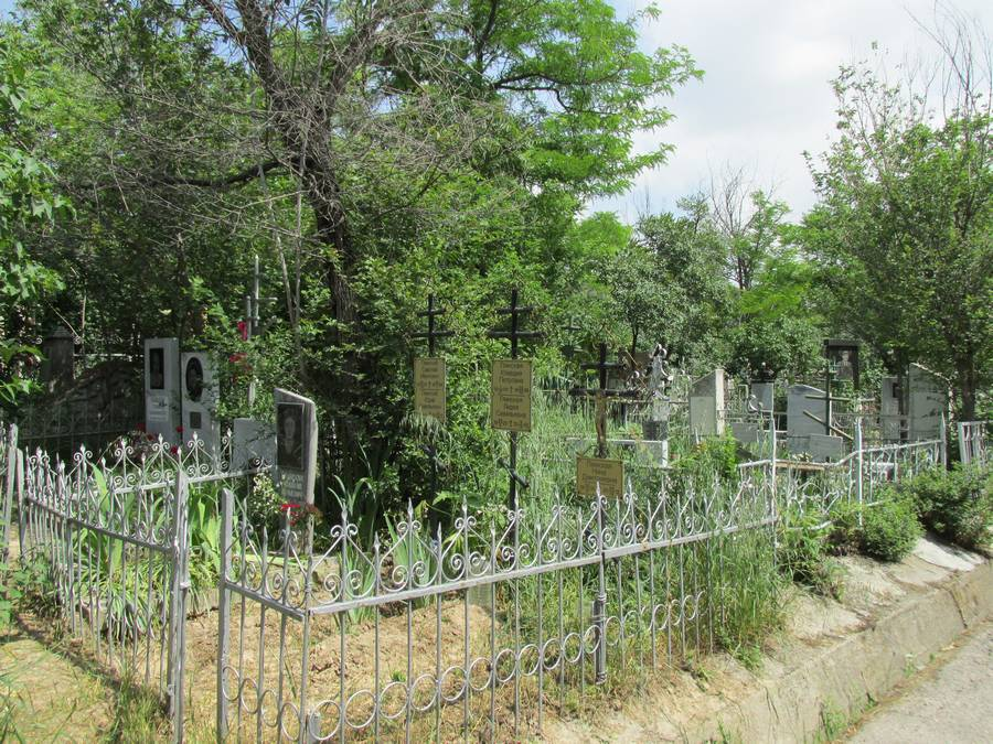 Боткино - русское кладбище в Ташкенте