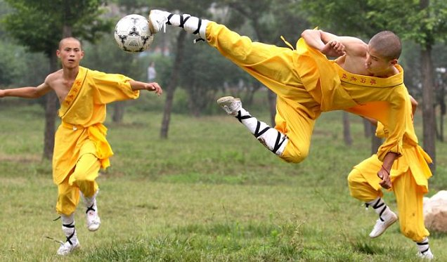 Шаолинь, футбол