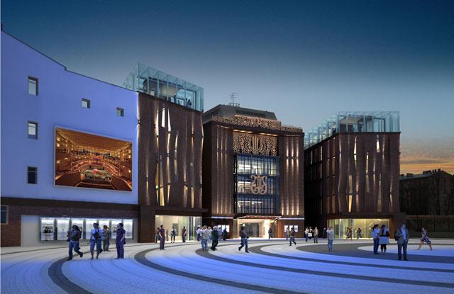 Проект корпусов Концертного зала Мариинского Театра