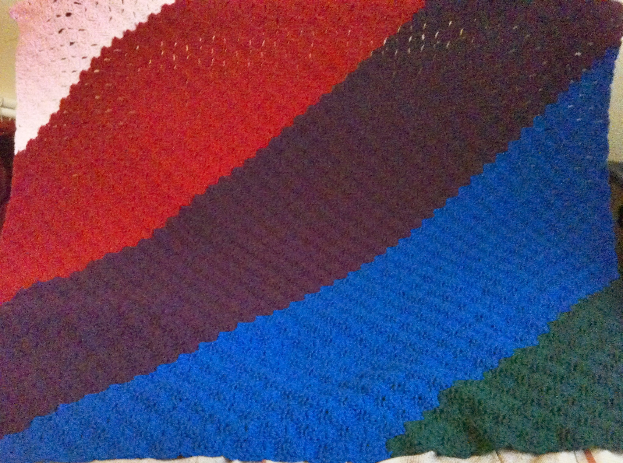 The Amazing Technicolour Afghan