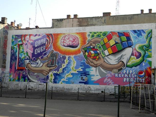 Львовские граффити.