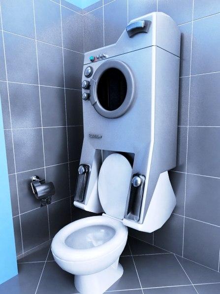 Ванная комната дизайн 2.5 кв м со стиральной машиной и унитазом