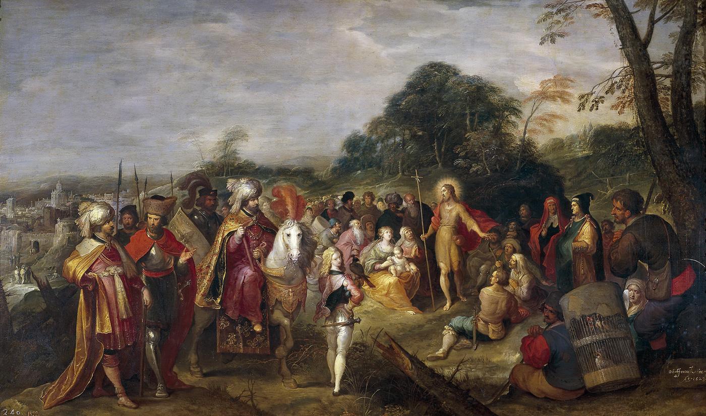 Франкен,-Франс-II-(1581—-1642)-Проповедь-Иоанна-Крестителя