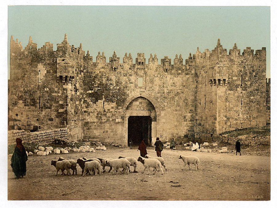 the-damascus-gate-jerusalem