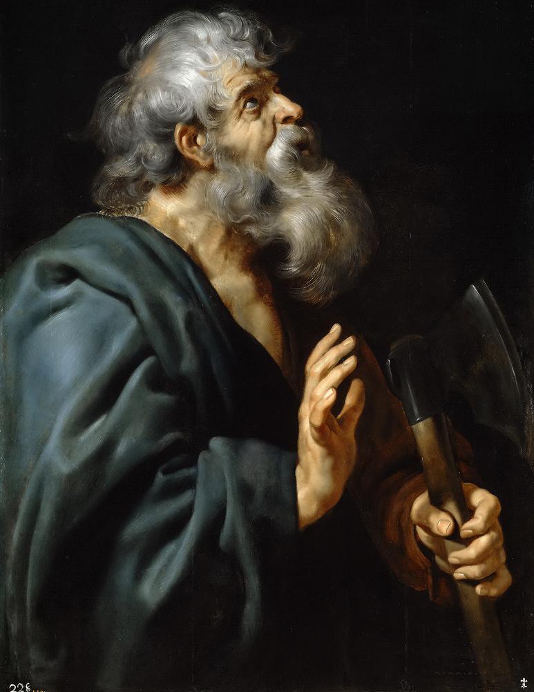 Рубенс,-Питер-Пауль-(1577-—1640)-Святой-Матфей