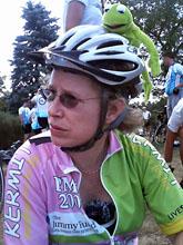Team Kermit's Rabbi Susan Harris