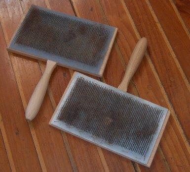 Ручные чесалки для шерсти своими руками