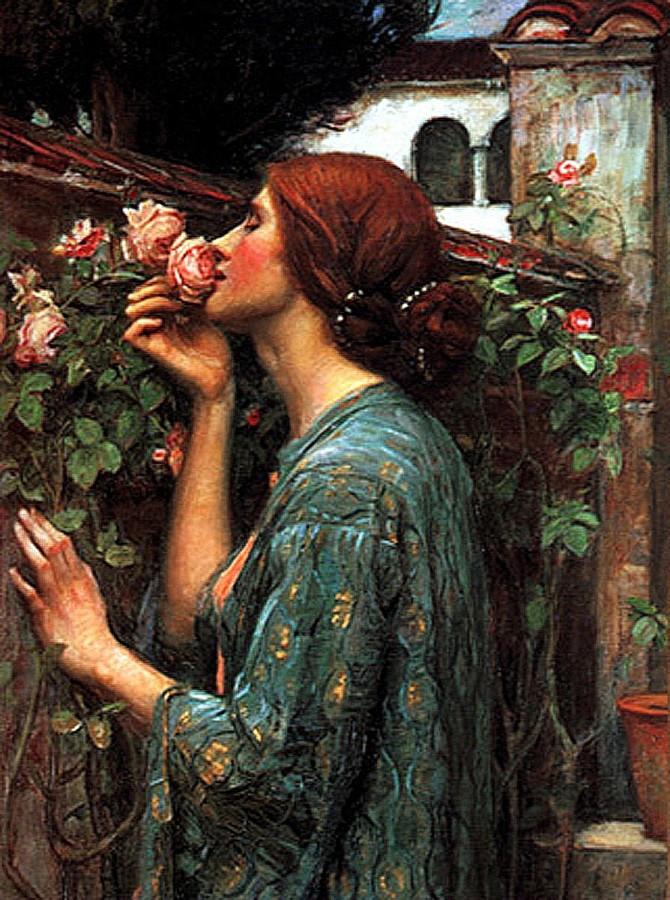 Душа розы или моя сладкая роза, 1908