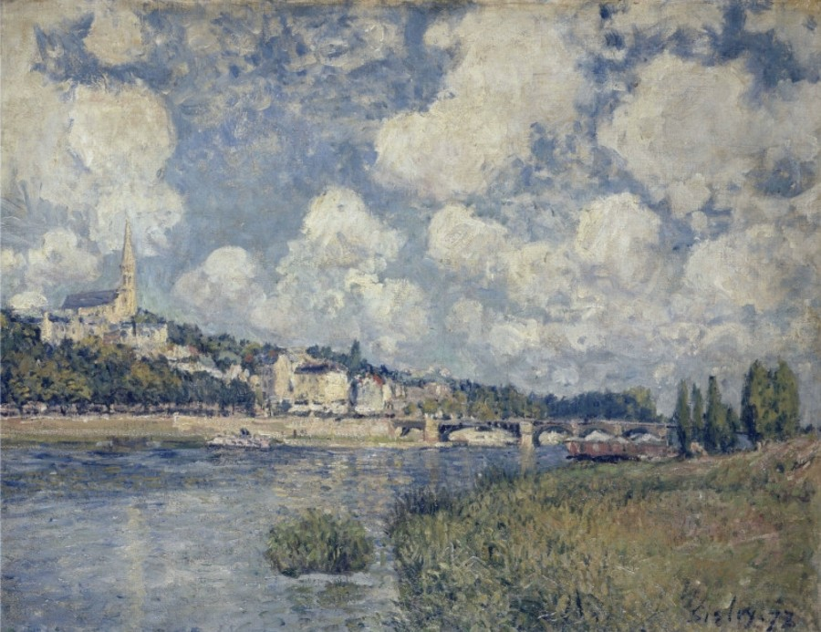 The River at Saint Cloud, 1873