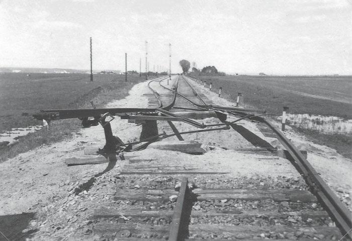 Русская диверсия на железной дороге