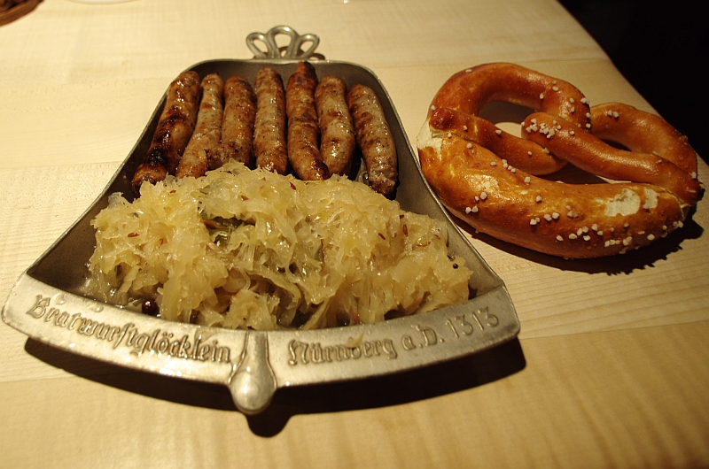 Нюрнбергские сосиски