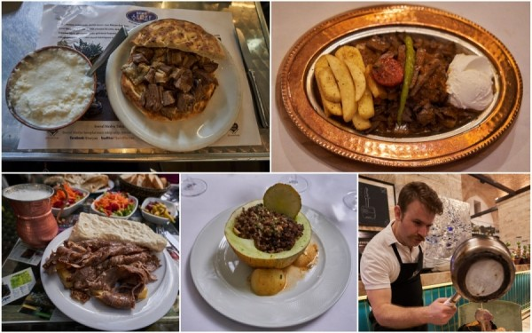 Едим в Стамбуле