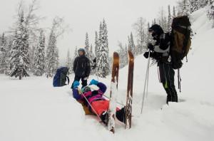 Лесные лыжи повышенной проходимости. Могут проложить и дорогу в небо