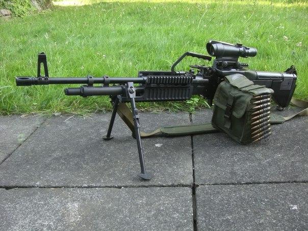Золотой анонс - Тяжелый пулемет М-60, отлично прорекламированный в ...