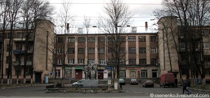 5-й коммунальный дом в Витебске.  Фото 2009 г.