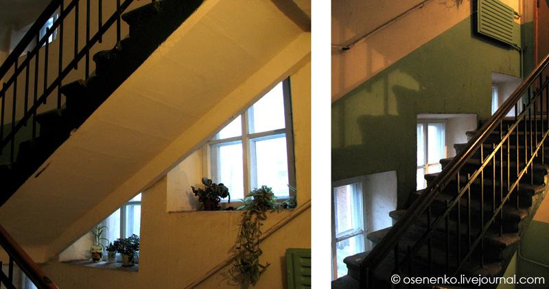 5-й коммунальный дом в Витебске. Фрагменты.  Фото 2009 г.