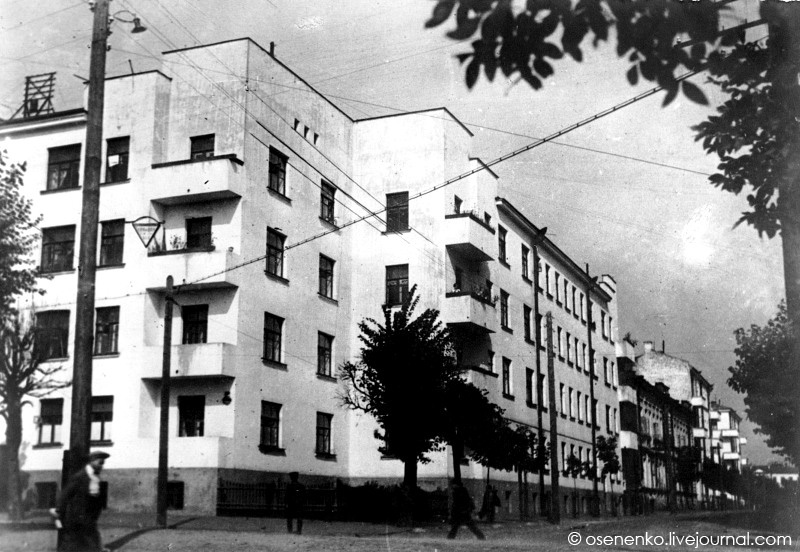 3-й коммунальный дом в Витебске. Фото 1940 г.