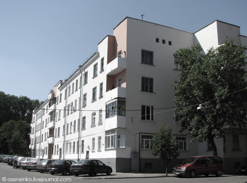 3-й коммунальный дом в Витебске.  Фото 2009 г.