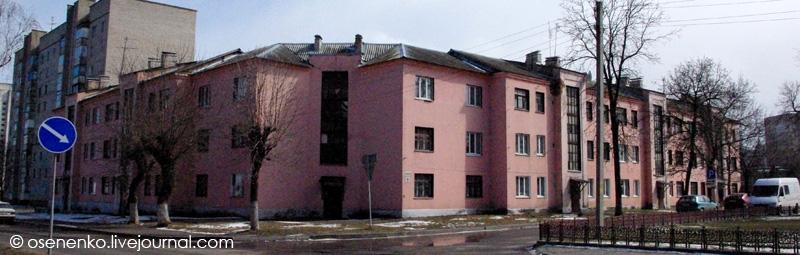 Жилой дом в Борисове.  Фото 2012 г.
