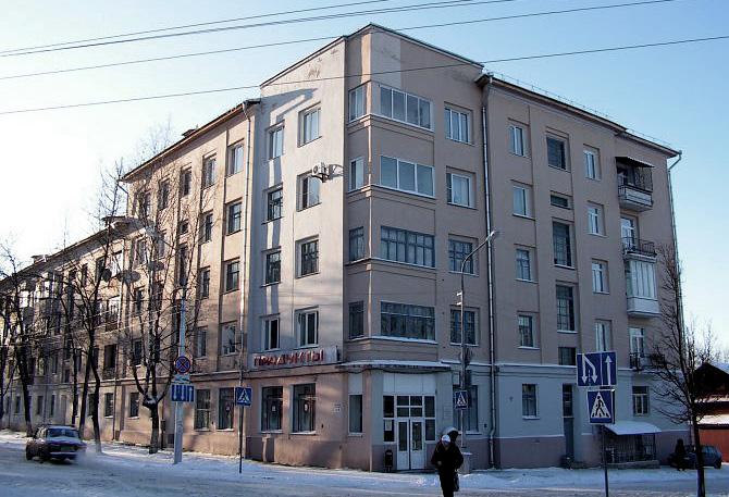 Дом Специалистов в Витебске. Фото 2010 г.