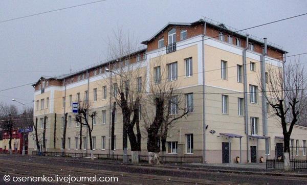 Административно-бытовой корпус фабрики «КИМ» в Витебске.  Фото 2012 г.