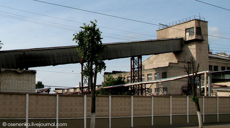 Маслобойный комбинат в Витебске. Фото 2009 г.