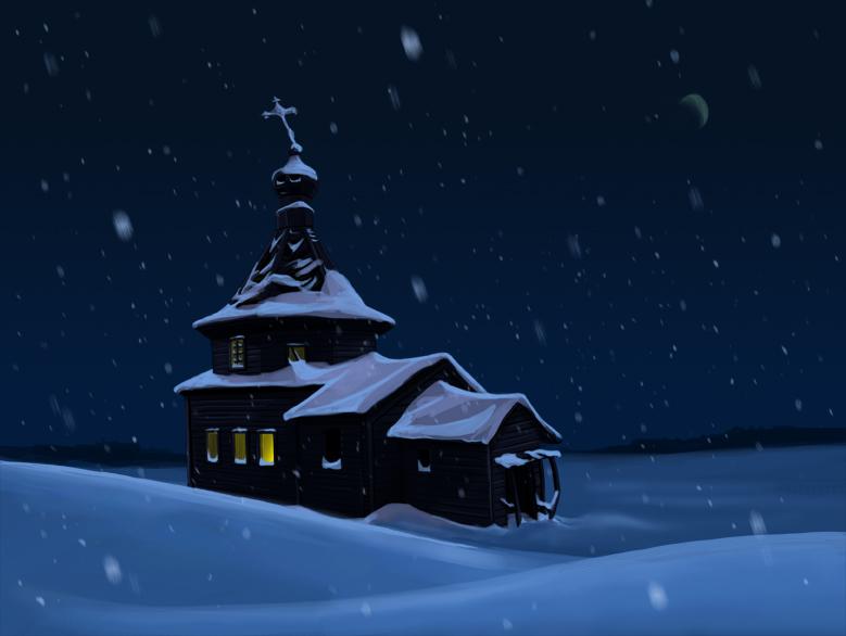 церковь-перед-рождеством