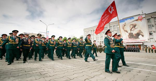 Парад Победы Владикавказ