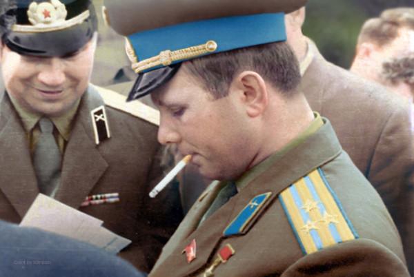 Гагарин в Клинцах, 1966 год