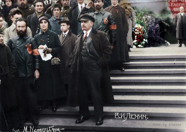 Ленин на параде Всевобуча 25 мая 1919 года