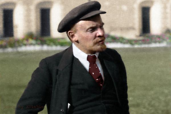 Ленин в Кремле 16 октября 1918 года