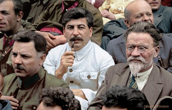 Сталин, Калинин, Ворошилов