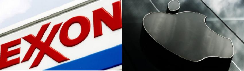 Apple vs Exxon