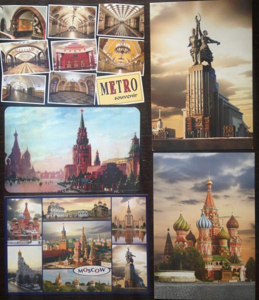 Открытки с видами москвы для посткроссинга, открытки оптом производителя