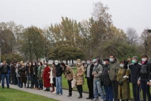 """Пикет против завода """"Электроцинк"""" 5 октября 2013"""