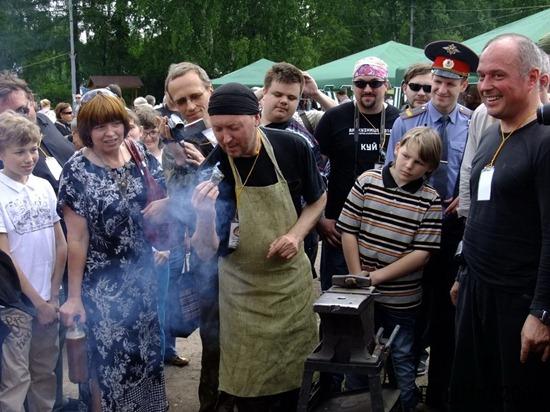 2-й кузнечный фестиваль в Кузминках