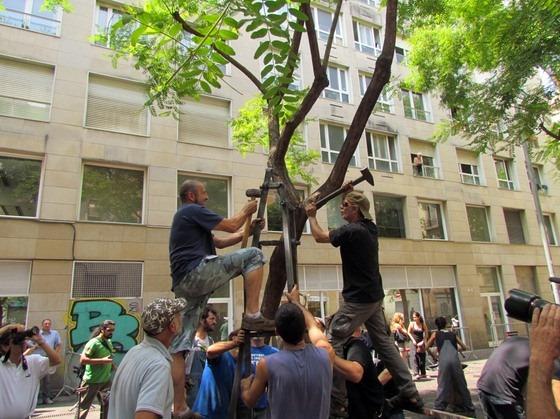 «Да здравствует кузница!» или FORJA VIVA, июль, Барселона