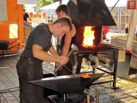 IX кузнечный биеннале проходил со 2 по 5 августа в небольшом немецком городе кузнецов Кольбермор (Kolbermoor)
