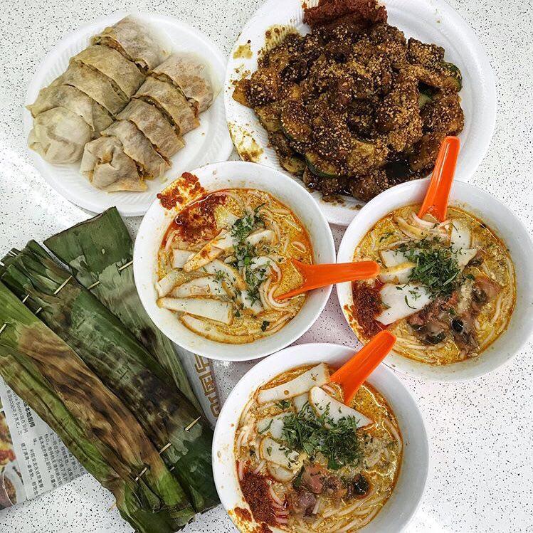 Сингапурский жопораздирающий обед на троих.