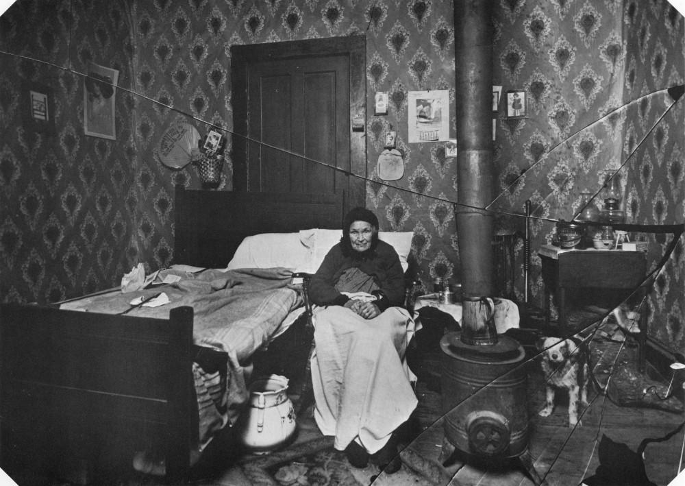 Одинокая бабушка в Далласе в Новый Год. 1914 год.