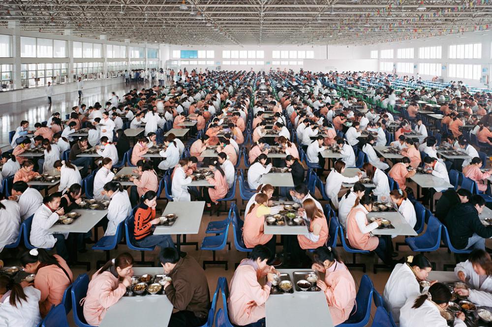 Обед на китайском заводе