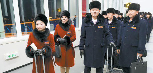 Начала прибывать команда из Северной Кореи