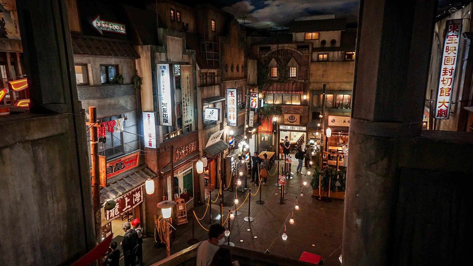 А это - музей рамена. Лапши. Йокогама.